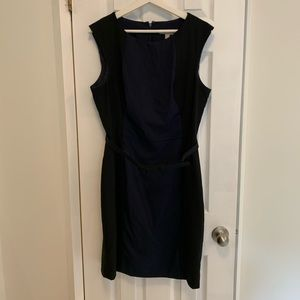Banana Republic Blue and Black Dress